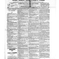 Le Journal de l'arrondissement de Valognes, numéro du 24 novembre 1882