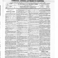 Le Journal de l'arrondissement de Valognes, numéro du 26 juin 1868