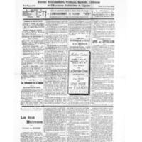 Le Journal de l'arrondissement de Valognes, numéro du 24 septembre 1932