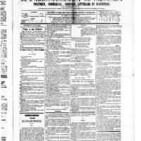 Le Journal de l'arrondissement de Valognes, numéro du 16 janvier 1880