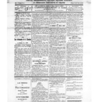 Le Journal de l'arrondissement de Valognes, numéro du 20 novembre 1926