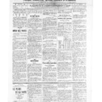 Le Journal de l'arrondissement de Valognes, numéro du 14 mai 1909
