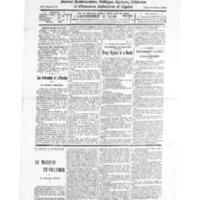 Le Journal de l'arrondissement de Valognes, numéro du 09 août 1930