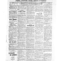 Le Journal de l'arrondissement de Valognes, numéro du 31 décembre 1909