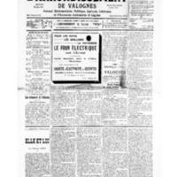 Le Journal de l'arrondissement de Valognes, numéro du 05 octobre 1935