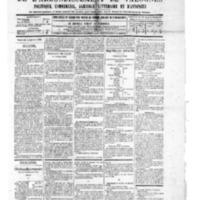 Le Journal de l'arrondissement de Valognes, numéro du 04 janvier 1889
