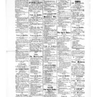 Le Journal de l'arrondissement de Valognes, supplément au numéro du 09 septembre 1881