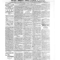 Le Journal de l'arrondissement de Valognes, numéro du 23 novembre 1906