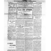 Le Journal de l'arrondissement de Valognes, numéro du 29 décembre 1928