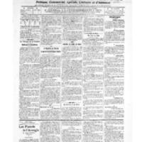 Le Journal de l'arrondissement de Valognes, numéro du 04 octobre 1907
