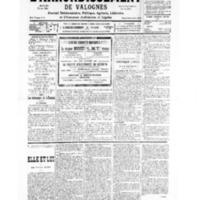Le Journal de l'arrondissement de Valognes, numéro du 02 février 1935