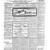 Le Journal de l'arrondissement de Valognes, numéro du 06 août 1932