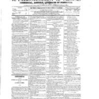 Le Journal de l'arrondissement de Valognes, numéro du 29 août 1873