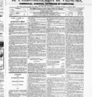 Le Journal de l'arrondissement de Valognes, numéro du 25 octobre 1867