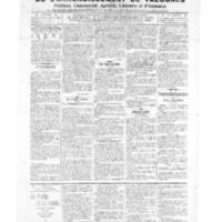 Le Journal de l'arrondissement de Valognes, numéro du 09 avril 1909