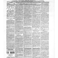 Le Journal de l'arrondissement de Valognes, numéro du 27 février 1903