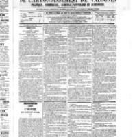 Le Journal de l'arrondissement de Valognes, numéro du 18 juin 1875
