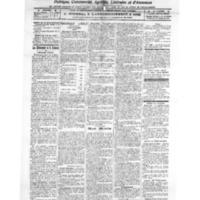 Le Journal de l'arrondissement de Valognes, numéro du 26 mars 1921