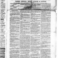 Le Journal de l'arrondissement de Valognes, numéro du 12 mars 1886