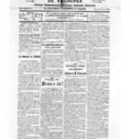 Le Journal de l'arrondissement de Valognes, numéro du 17 mars 1928