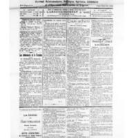 Le Journal de l'arrondissement de Valognes, numéro du 23 octobre 1926