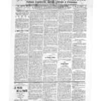 Le Journal de l'arrondissement de Valognes, numéro du 20 août 1909
