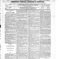 Le Journal de l'arrondissement de Valognes, numéro du 08 novembre 1867