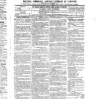 Le Journal de l'arrondissement de Valognes, numéro du 03 septembre 1886