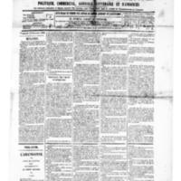 Le Journal de l'arrondissement de Valognes, numéro du 13 décembre 1889