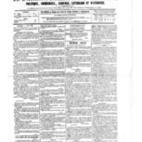 Le Journal de l'arrondissement de Valognes, numéro du 05 août 1881