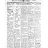 Le Journal de l'arrondissement de Valognes, numéro du 05 mars 1921