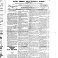 Le Journal de l'arrondissement de Valognes, numéro du 17 décembre 1880