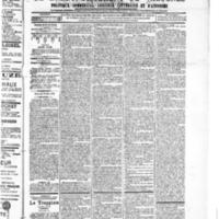 Le Journal de l'arrondissement de Valognes, numéro du 26 mai 1905