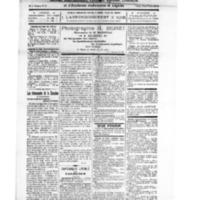 Le Journal de l'arrondissement de Valognes, numéro du 06 septembre 1924