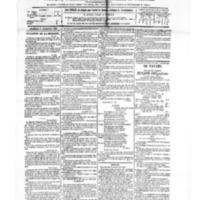 Le Journal de l'arrondissement de Valognes, numéro du 01 septembre 1882