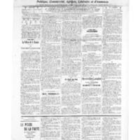 Le Journal de l'arrondissement de Valognes, numéro du 28 mai 1909
