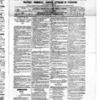 Le Journal de l'arrondissement de Valognes, numéro du 30 mai 1879