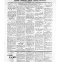 Le Journal de l'arrondissement de Valognes, numéro du 18 juin 1909