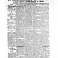 Le Journal de l'arrondissement de Valognes, numéro du 14 juillet 1905