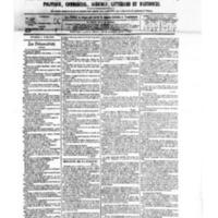 Le Journal de l'arrondissement de Valognes, numéro du 04 avril 1879