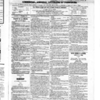 Le Journal de l'arrondissement de Valognes, numéro du 15 décembre 1865