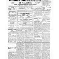 Le Journal de l'arrondissement de Valognes, numéro du 09 février 1935
