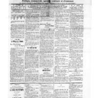 Le Journal de l'arrondissement de Valognes, numéro du 15 février 1913