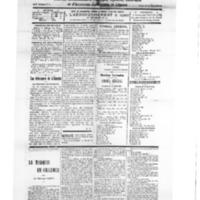 Le Journal de l'arrondissement de Valognes, numéro du 20 octobre 1928