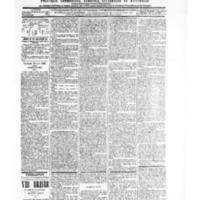 Le Journal de l'arrondissement de Valognes, numéro du 12 juin 1903