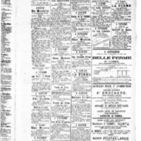 Le Journal de l'arrondissement de Valognes, supplément au numéro du 10 juillet 1885