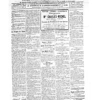 Le Journal de l'arrondissement de Valognes, numéro du 12 novembre 1921