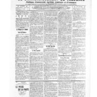Le Journal de l'arrondissement de Valognes, numéro du 05 février 1909
