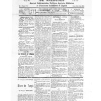Le Journal de l'arrondissement de Valognes, numéro du 03 octobre 1931