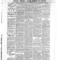 Le Journal de l'arrondissement de Valognes, numéro du 28 décembre 1906